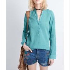 Zadig & Voltaire crinkle tunic - size small VEUC